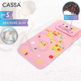 Cassa Freeze Baby Bed Cooling Mat Cute Cartoon Crib Breathable Mat Baby Mattress