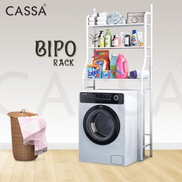 Cassa Bipo 3 Tiers Anti-rust Metal / Stainless Steel Bathroom Washroom Toilet Bowl Utilities Rack Shelves Shelf Save Space Organizer Organiser Container Storage Towel Hooks Shampoo Hanger Basin Basket Laundry Lavatory