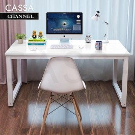 Cassa Kyle Channel Home Office Table Computer Desk Modern Design (120x60cm / 100x60cm)