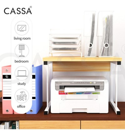 Cassa 2 Layer/ 3 Layer Zigwave Drawave Olivewave Icywave Heavy Duty Thicker Steel Microwave Oven Rice Cooker Rack Kitchen Dapur shelf Organizer Storage (WIth Drawer / Without Drawer)