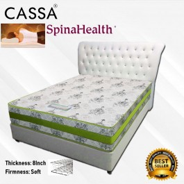 Cassa Spinahealth Goodnite 8 Inches Queen Posture I- Spring Gemilang Mattress only