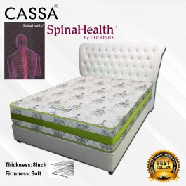Cassa Spinahealth 8 Inches Queen Posture I- Spring Gemilang Mattress only