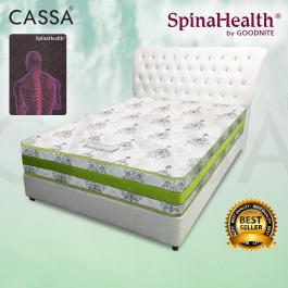 Cassa Spinahealth By Goodnite 8.5 Inch Gemilang Queen Posture Spring Mattress (With Yellow QC By Goodnite)