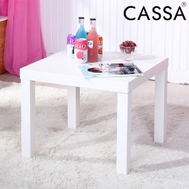 Cassa IKI Modern Side Table Coffee Table (White)