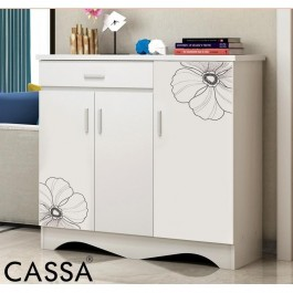 Cassa Newway Cubic 1203 Shoes Cabinet Beige
