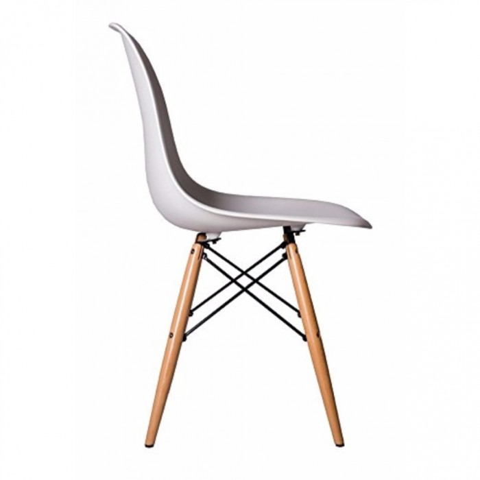 Cassa Eames Chair White With Sevil Mobile Height