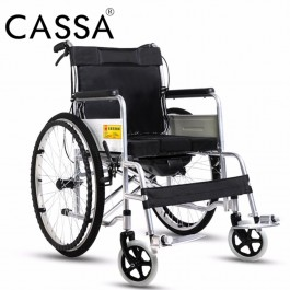 Cassa Cano Premium Quality High Back Folding Medical Wheel Chair/ Wheelchair