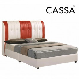 Cassa Indulgence Heavy Duty Dark Brown Queen Divan Bed Frame Only