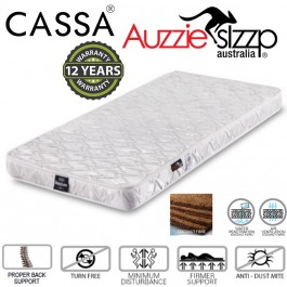 Australian Aussie Sleep Baby Love (98X55cm) 12 years Warranty 100% Coconut Fibre Mattress Thick 4 Inches