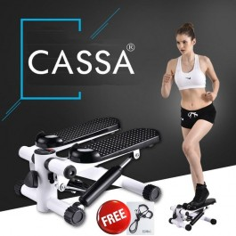 Cassa Home Stepper Multifunction Fitness Black White(Free 2 x Resistance  Band) 38a7cc6a425