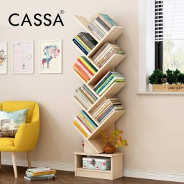Cassa Creative Tree Type Multifunctional Simple Landing Modern Decorative Book Shelf Bookcase Display Rack