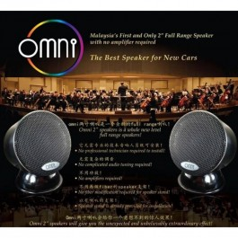 Omni 2 full range speaker Malaysia First and only with no amplifier required