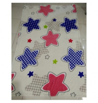 150X90CM SUPER SOFT HOMEY COMFY TRAVEL BLANKET (Can be Roll or Fold into a compress small unit)
