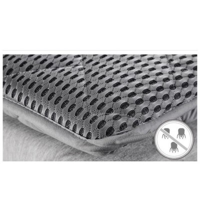 Cassa 4D All Season Flexible Rollable Japanese Tatami Style Single/Queen/King Mattress Topper Only Thick 4 cm