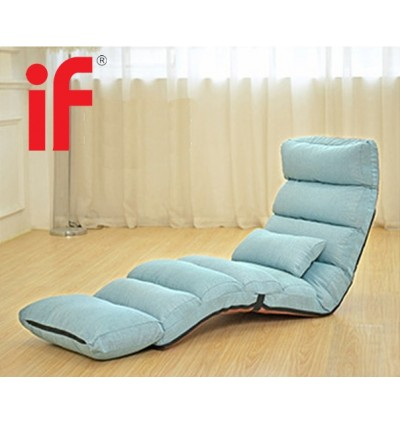 Cassa Relaxing Folding Sofa Chaise Lounge Chair (Red/Khaki/Blue)