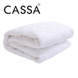 Cassa Hoyta Quilted Queen Mattress Topper or Queen Protector