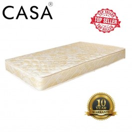 10 Years Warranty Casa Super Single/Single 3.5' thick 8 Posture Spring Mattress only