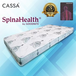 [3 Years Warranty] Spinalhealth by Goodnite 4.5 inch High Quality Compact Rubber Foam Rebond Single Mattress Only