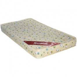 Casa Sunpillo High Density Rubber foam Baby Mattress (120X60)