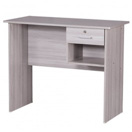 Cassa Writing Table 3ft With 1 Drawer Grey
