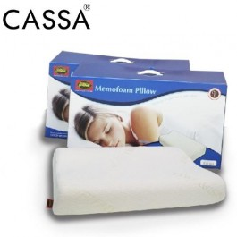 Cassa Deep Sleep High Density Good Neck Support Memory Foam Pillow for Spinahealth (2 Unit) Manufactured by Goodnite