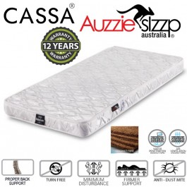 Australian Aussie Sleep Baby Love (120X60cm) 12 years Warranty 100% Coconut Fibre Mattress Thick 4 Inches