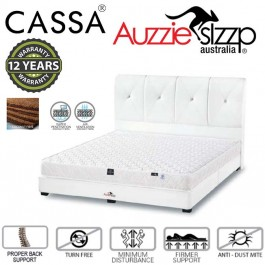 Australia Aussie Sleep Lavender 100%Pure Coconut Queen Fibre Mattress Only