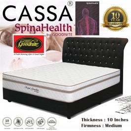 "Goodnite Spinahealth [Limited Edition Royal Grandeur] Vitania 10""Posture Spring Queen/King/Single/Super Single Mattress Only"