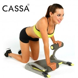 Cassa 8 IN 1 360 Degree Six Packs Muscle AB Machine Abdominal Exercise Fitness Equipment Gym Home Abs Core Workout Machine Abdominal Exercise Slimming