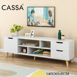 Cassa Lavio 5 Feet 140cm TV Cabinet Entertaiment Unit Scandinavian-inspired
