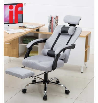 Cassa Monza Ergonomic Style Function Adjustable Reclineable Executive Office Chair Black White
