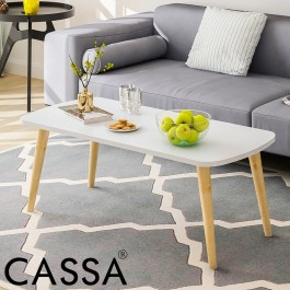 Cassa Eamos Scandinavia Style Coffee Table (White)