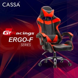 Cassa Figo Back Ergonomic Racing Style Backrest Reclineable Adjustable Gaming Executive Office Chair