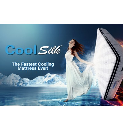 [SPECIAL LIMITED OFFER - Buy 1 Free 5 Items] Dunlopillo MaxiCool [Upgraded with Cool Gel Memory Foam] StatFree TenseFree CoolSilk Talalay Latex Comfort Layer 3 Zones Pocketed Spring King/Queen Mattress