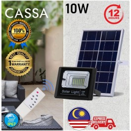 Cassa Hi Quality Led Solar Spotlight Flood Light 10W  10-20Hours 1Year Warranty