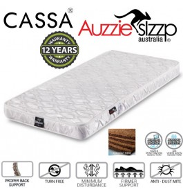 Australian Aussie Sleep Baby Love (115X60cm) 12 years Warranty 100% Coconut Fibre Mattress Thick 4 Inches