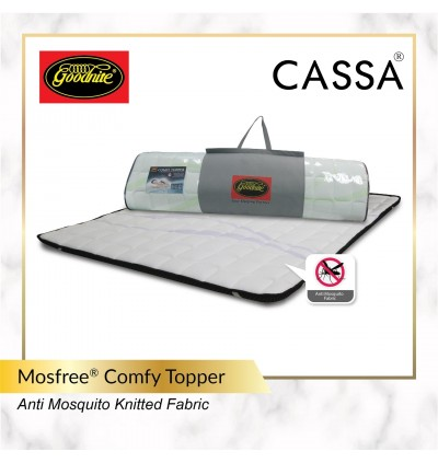 Cassa Goodnite [Super Value Offer+10 Year Warranty] Devato 12 inch Plush Top 3 Zone Pocket Spring Queen Mattress Only