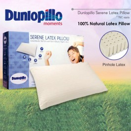 Cassa Dunlopillo Serene Latex Pillow (100% Pure Natural Latex Pillow)