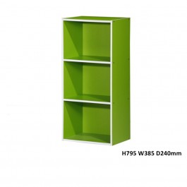 Cassa SU01 3 Tier Utility Storage Shelf Book Shelf Book Cabinet